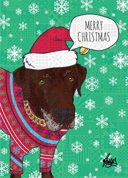 Give this sweet Rose Hill card for any dog-lover! Those eyes will make you melt.