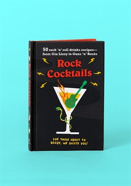 Inspired by rock icons Creative recipes Funny puns If you're a fan of rock music and like your alcohol just as hard then this book full of 50 rock and roll drinks recipes is a great buy! Every page has a cocktail inspired by the greatest icons of rock past and present with brilliant puns accompanying them that only true fans will be able to distinguish. Cards and gifts are sent separately. View our delivery page for more details on gift processing and delivery times. For Her For Him Gifts Under A Tenner Secret Santa Stocking Fillers Books