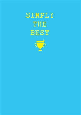 Better than all the rest, better than anyone! Send this Scribbler card to someone who's achieved the impossible.