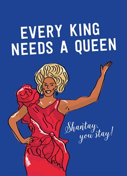 Do they have charisma, uniqueness, nerve and talent? Then they might have what it takes to be the next drag superstar! This fabulous card by the designers at Scribbler is perfect for any queen.