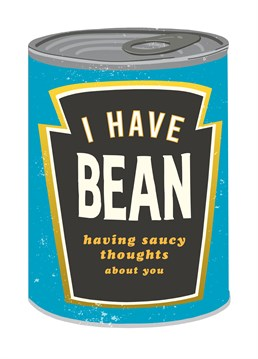Send A Bean Lover This Saucy Card And Let Them