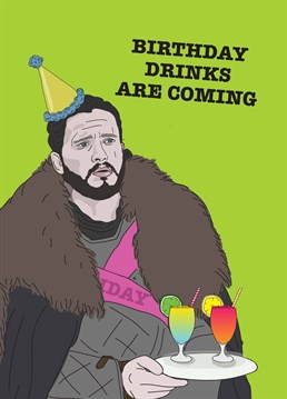 Even Jon Snow Is In The Mood For Partying Wish A Fan