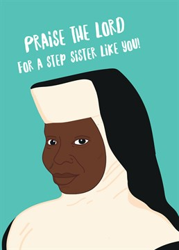 Let Your Sister Know Theres Nun Better Than Her Celebrate A Birthday With This Card