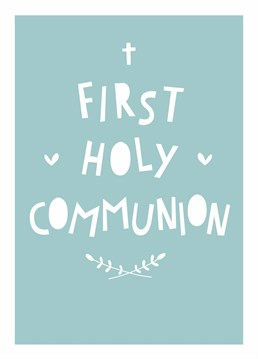Celebrate this important rite of passage and send your love and prayers to a special boy on the day of his First Communion. Designed by Scribbler.