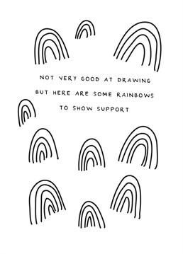Send lots of good vibes and rainbows to support an essential worker or local hospital with this cute NHS inspired Scribbler design.