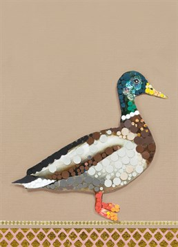 This mallard has got some style and he knows it! Send this super stylish card from Tigerlily to make them smile.