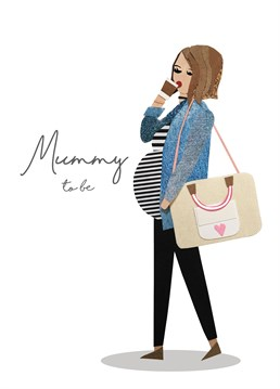 How can she be so pregnant yet still so stylish?! Send your congratulations with this super cool card from Tigerlily.