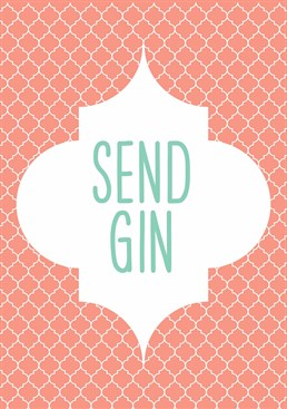 Nudes are overrated. Just send gin please! Designed by This Mama Does.
