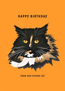Send this Birthday hint, and hope that they get it, Meow.