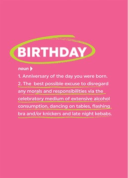 The Real Meaning Of Birthday
