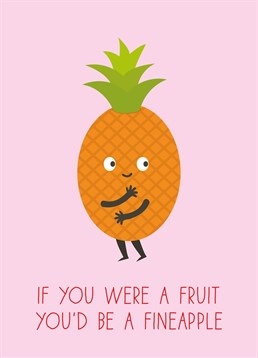 Now you're talking - fruity and fine - smokin'! Very fine card from Scribbler for your Valentine.