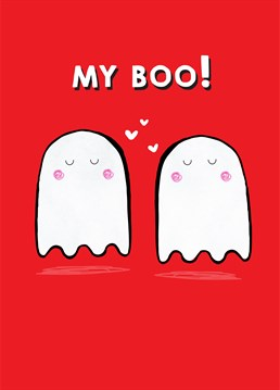 If you must insist on soppy nicknames, this is the Scribbler card for your loved one - be it Valentine's or Halloween!
