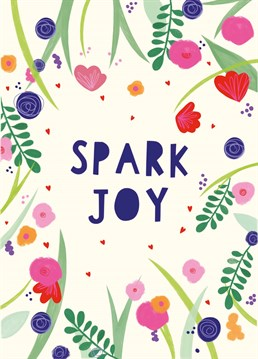 No matter the occasion, spark joy in someone's life with this jolly floral design by Whale & Bird.
