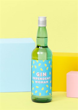 <ul> <li>Let the celebration really be-GIN!</li> <li>Cheeky label which puts the &ldquo;lol&rdquo; into alcohol</li> <li>Unique gift for a devout gin drinker</li> <li>Size: 750ml</li> <li>Percentage: 37.5%</li></ul><p>Gin: now there&rsquo;s a temporary solution to all our problems!</p><p>Not just your regular bottle of gin: this is a Scribbler bottle of gin&hellip; We&rsquo;ve added our own Scribbler stamp to some of your favourite boozy beverages because wine the hell not?</p><p>The perfect quirky gift to bring along to any celebration and stand out next to the same old (boring) supermarket bottles of spirit. Or make someone&rsquo;s day extra special by sending them the means to a boozy night in. Gin for everyone you know? That&rsquo;s the spirit!</p><p>However, we wouldn&rsquo;t blame you if you were tempted to just treat yourself. You&rsquo;ve got to sample the goods first, right? And we&rsquo;ve heard it&rsquo;s really not good to keep things bottled up for long... So, cheers to that!</p><p>Cards and gifts are sent separately. View our Delivery page for more details on Gift processing and delivery times.</p> Please note this product is made to order and is non-returnable.
