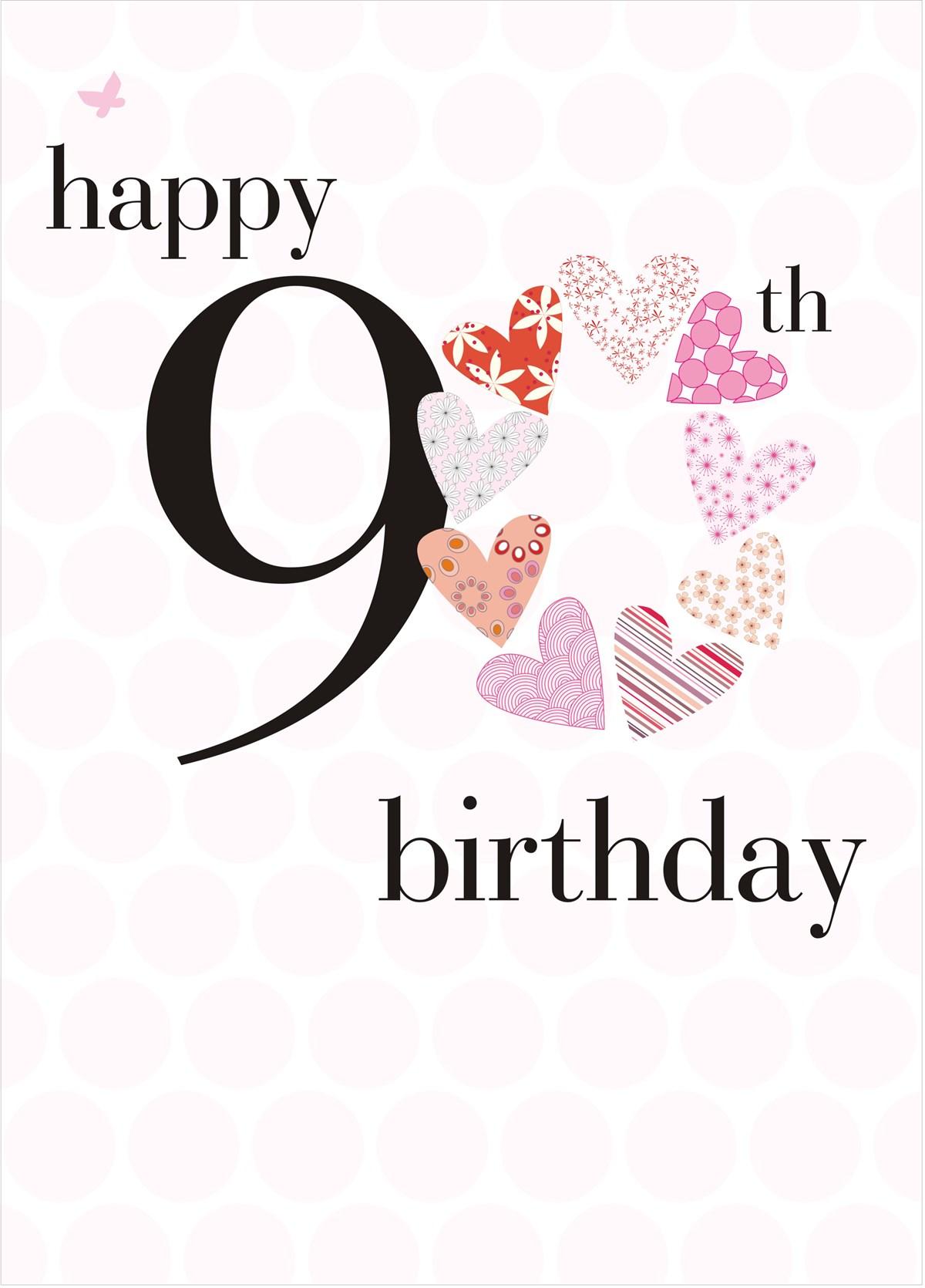 Birthday 90 Cards