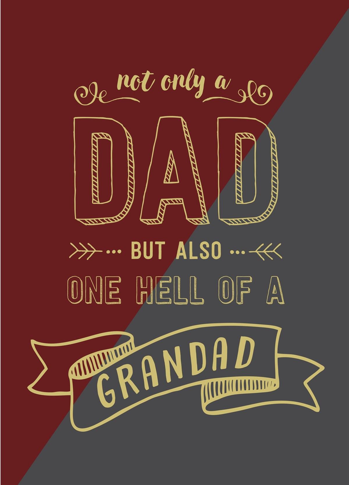 fd4 Fathers day card GRANDAD