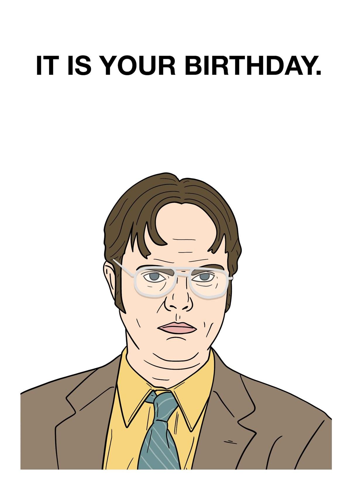 Tv Film Birthday Cards Scribbler