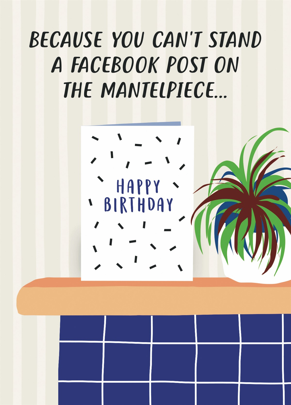 Facebook Post VS Birthday Card Zoomed Image Hover To Zoom
