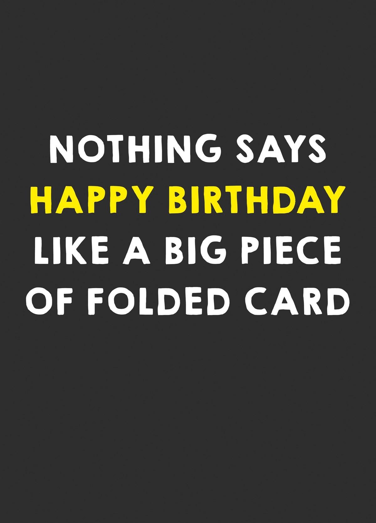 Birthday Cards From Scribbler