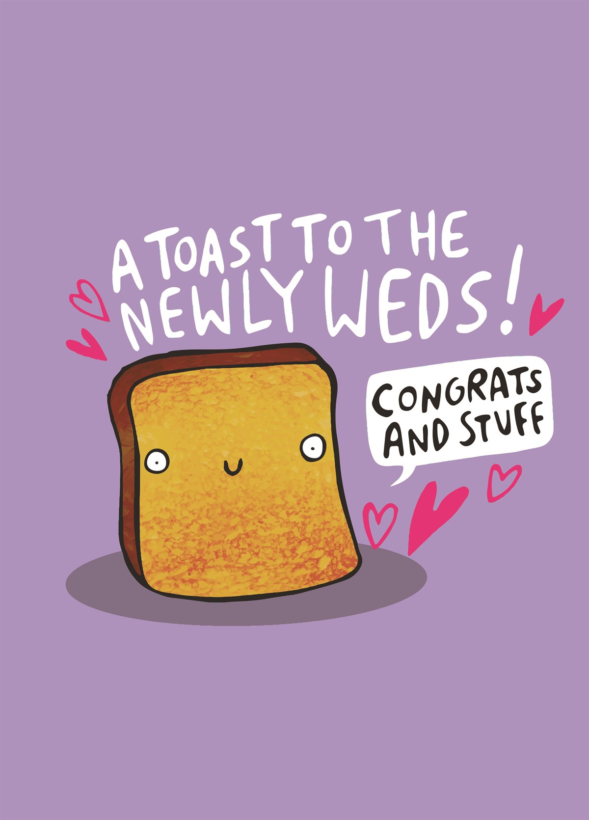 Funny Anniversary Card With Avocado and Toast Greetings Card For Couples Wedding Card For Newlyweds From Rock On Ruby